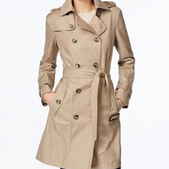 615990010 London Fog Vintage Double Breasted Trench Coat 8